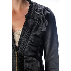 RYU Jacket with  Shirring Detail Center
